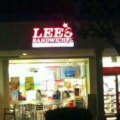 Photo taken at Lee's Sandwiches by Otis B. on 1/20/2012