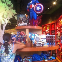 Photo taken at Disney Store by Carlos P. on 4/28/2012