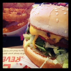 Photo taken at The Habit Burger Grill by Jay T. on 11/30/2011