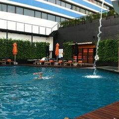 Photo taken at The Westin Grande Sukhumvit, Bangkok by Shun Y. on 3/16/2012