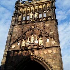 Photo taken at Staroměstská mostecká věž | Old Town Bridge Tower by Jiri S. on 3/31/2011