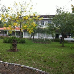 Photo taken at Centro de Espiritualidade Maria Mãe da Vida (Joari) by Jefferson M. on 11/18/2011
