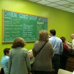 Photo taken at Darn Good Soup by Tim S. on 3/16/2011