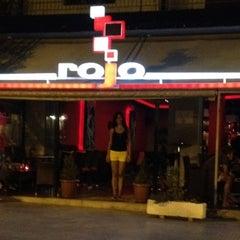 Photo taken at Rojo by Manolis on 8/17/2012