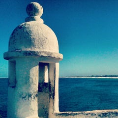 Photo taken at Farol Do Forte by Nil M. on 8/14/2012