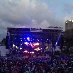 Photo taken at Bayfront Park Amphitheater by Manuel M. on 3/22/2012
