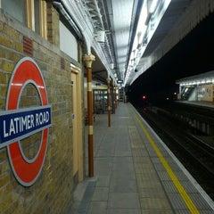 Photo taken at Latimer Road London Underground Station by Anton H. on 9/8/2012