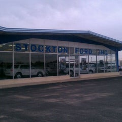 Photo taken at Stockton Ford, Inc. by Bart L. on 1/24/2012