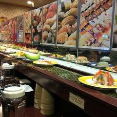 Photo taken at 스시나마 by Katie L. on 3/13/2012