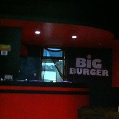 Photo taken at Big Burger Station by Aryo S. on 10/27/2011