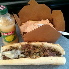Photo taken at Bada Bing Philly Cheesteaks by Tom C. on 10/15/2011