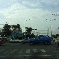 Photo taken at แยกนิด้า (NIDA Intersection) by WarnHub M. on 5/23/2012