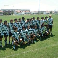 Photo taken at Estadio Alcochete by Nuno A. on 6/10/2012
