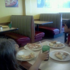 Photo taken at Cicis by Christina W. on 6/6/2012