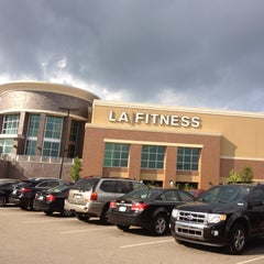Photo taken at LA Fitness by Larry on 8/27/2012
