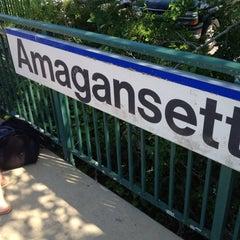 Photo taken at LIRR - Amagansett Station by WillMcD on 6/3/2012