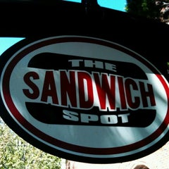 Photo taken at The Sandwich Spot by Mark H. on 8/27/2012