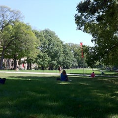 Photo taken at Mosse Humanities Building by Kevin B. on 9/4/2012