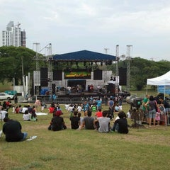 Photo taken at Parque Recreativo y Cultural Omar by Jans N. on 4/21/2012
