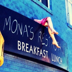 Photo taken at Mona's Restaurant by Jeremy S. on 4/7/2012