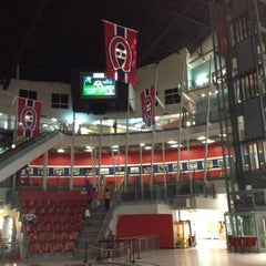 Photo taken at Cineplex Odeon Forum Cinemas by Léo N. on 6/24/2012