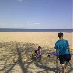 Photo taken at Gimli Public Beach by Lara on 5/12/2012