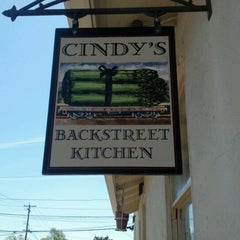 Photo taken at Cindy's Backstreet Kitchen by Barbara H. on 4/19/2012