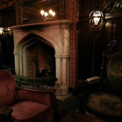 Photo taken at Bowery Hotel Lobby Bar by Ola F. on 6/29/2012