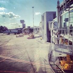 "Photo taken at Otopeni ""Henri Coandă"" International Airport (OTP) by Valentin-Narcis S. on 8/13/2012"