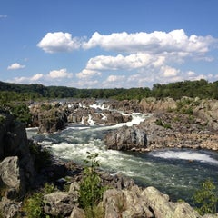 Photo taken at Great Falls National Park by Katrina C. on 8/18/2012