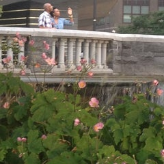Photo taken at Battery Park City by Dondy on 8/21/2012