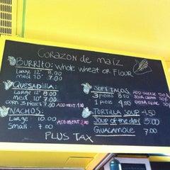 Photo taken at Corazon De Maiz by Scott W. on 7/2/2012