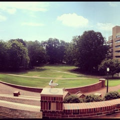Photo taken at NCSU - Court of North Carolina by Mariesa on 7/30/2012