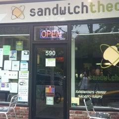 Photo taken at Sandwich Theory by Phynjuar P. on 6/13/2012