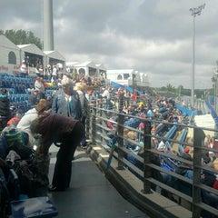Photo taken at Pim Mulier Baseball Stadium by Hans v. on 7/13/2012