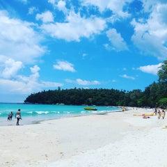 Photo taken at Phuket Kata Resort by Shingo I. on 10/14/2015