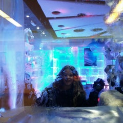Photo taken at Chillout Ice Lounge Dubai by OldFashioned A. on 3/28/2014