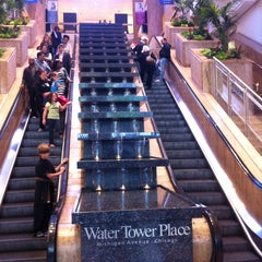 Photo taken at Water Tower Place by Yash on 7/28/2013