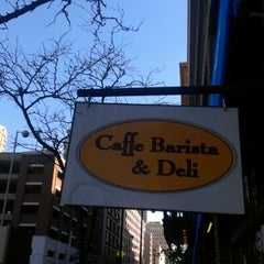 Photo taken at Caffe Barista & Deli by Todd on 11/2/2012
