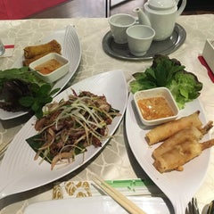 Photo taken at Restaurant Saigon by Mario B. on 2/14/2016