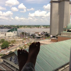 Photo taken at DoubleTree by Hilton Hotel New Orleans by Sarah B. on 5/16/2013