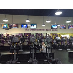 Photo taken at Planet Fitness by Aimee E. on 3/2/2015