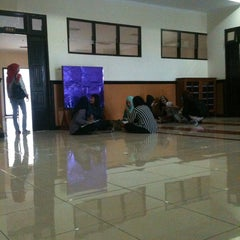 Photo taken at Gedung A FISIP by Fresy P. on 3/24/2014