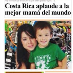 Photo taken at Grupo Nación by Andre on 8/13/2015