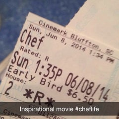 Photo taken at Cinemark Theaters by Fifi J. on 6/8/2014