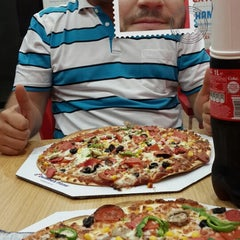 Photo taken at Domino's Pizza by Ilhan Y. on 8/16/2014