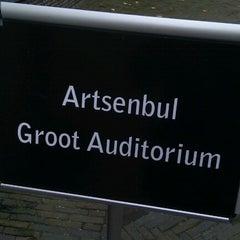 Photo taken at Academiegebouw by Ariane N. on 10/26/2012
