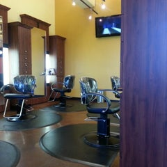 Photo taken at Henry's Salon by Andrew K. on 1/21/2013