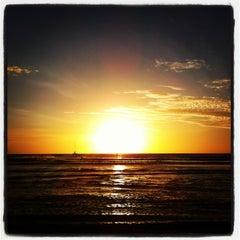 Photo taken at Praia de Jericoacoara by Vivian O. on 7/7/2013
