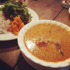 Photo taken at Cafe Amar by Asami K. on 5/23/2014